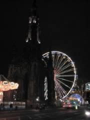 The Big Wheel at night