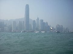 HK Harbour through the haze