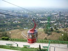 Almaty cable car