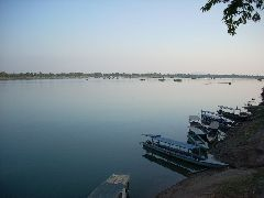 Mekong longboats