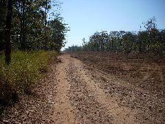 Last 5km dirt road