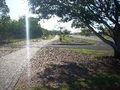Bike path out of Darwin