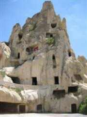 Typical Cappadocia view
